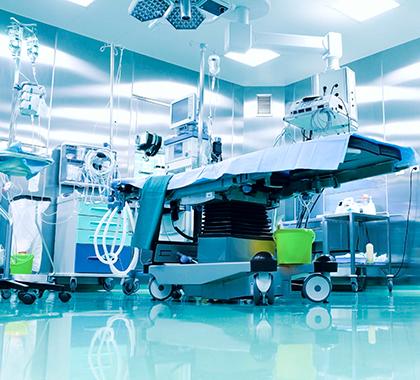 Limpieza pre y post quirúrgica